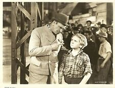 """JACKIE COOPER in """"The Bowery"""" Original Vintage Photograph 1933"""