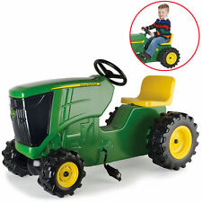 John Deere Plastic Pedal Tractor 46394 Farm Toys Ride on Children Quad