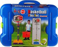 Portable Basket Ball Complete game in Carry Case - Garden Toy