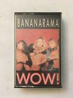 Bananarama, Wow! Tape Cassette