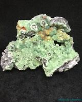 HIGH END___SUPERIOR LUSTER___LARGE EXTREMELY RARE Wavellite___Arkansas