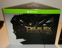Deus Ex Mankind Divided  Collectors Edition Xbox One Brand New Xbox