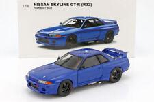 1/18 1992 NISSAN SKYLINE GT-R R32 BATHURST BAYSIDE BLUE PLAIN AUTOART BIANTE NEW