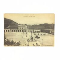 La Gare Railway Station Bar le Duc France Vtg Postcard Black White Divided Back