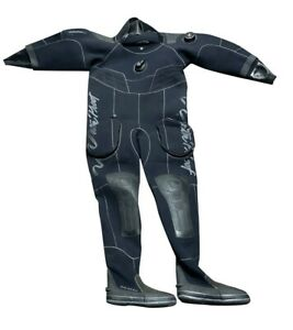 Waterproof Sweden D70SC Drysuit Med for Cold Water Scuba Diving w/ Size 10 Boot