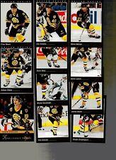 1993-94 Pinnacle Boston Bruins Team Set of 11 Hockey Cards