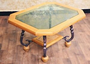 Voglauer Anno 1800 Table Coffee Table Sofa Table Glass Table 80x100 CM Cottage