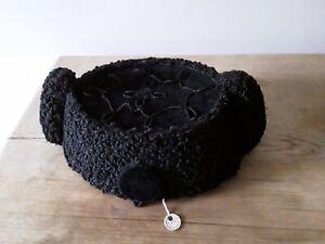 Original vintage handmade Spanish bull fighter's/matador hat Isesa Sevilla