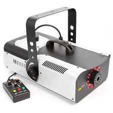 DMX Nebelmaschine 1500 Watt LED RGB 3in1 9x3W RGB Timer Fernbedienung FOG Fogger