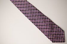Beautiful Pink, Purple, Navy JOSEPH&LYMAN FOR BLOOMINGDALES 100% Silk Neck Tie
