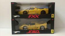 Hotwheels Elite 1:18 two pieces Ferrari F50 & Ferrari FXX