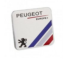 PEUGEOT 3D ABS Emblems Badge Stickers Sport Racing EUROPE Emblem Logo UK