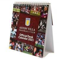 OFFICIAL FOOTBALL CLUB - 2021 DESK CALENDAR - Aston Villa