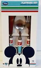 Disney Store Mickey Fork Spoon Knife Flatware Set