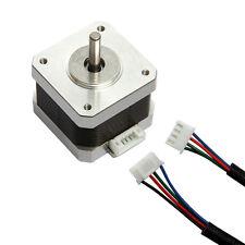 2 phase 1.8° Schrittmotoren Stepping Motor 5V 1A for 3D Printer