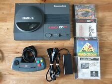 Commodore Amiga CD32 Konsole + Original CD32 Controller + 45 Spiele #TOP Zustand