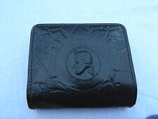 Egyptian Leather Women Lady Black Clutch Wallet Purse Card Holder King Tut #210