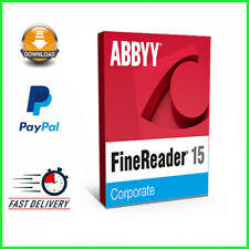 ABBYY® FineReader® 15✔️Full Version✔️Lifetime Licence Key✔️Windows✔️