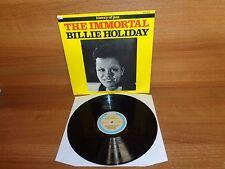 HISTORY OF JAZZ : THE IMMORTAL BILLIE HOLIDAY : Vinyl Album : JOKER SM 3131