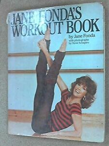 Jane Fonda's Workout Book by Jane Fonda Hardback Book The Fast Free Shipping