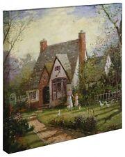 """Thomas Kinkade Wrap - The Cottage – 20"""" x 20"""" Wrapped Canvas"""