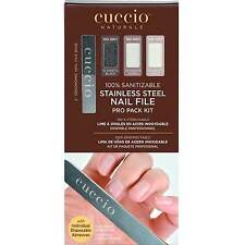 Cuccio Stainless Steel Nail File - Pro Pack Kit  (2 x Ergonomic Nail File)