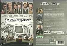LE PETIT RAPPORTEUR ( 2 DVD ) JACQUES MARTIN, COLLARO, P. DESPROGES / COMME NEUF