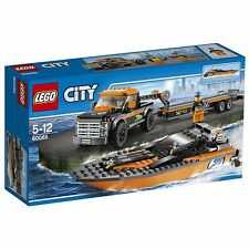 LEGO City 60085 4x4 with Powerboat (BRAND NEW)