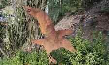EDELROST Rabe 5 Tier Skulptur Rost Gartendeko Edel Kunst Dekoration Metall NEU