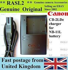 Original Canon Charger CB-2LDE NB-11L PowerShot A2300 A2400 A4000 A3400 ELPH 320