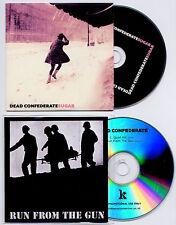DEAD CONFEDERATE Sugar UK promo CD + bonus CD Run From The Gun J. Mascis