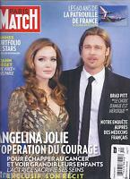 Angelina Jolie Brad Pitt Paris Match Magazine Cannes Yoann Freget Air Force 2013