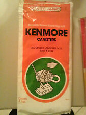 5 bags of 2 total of 10 Kenmore Cansiter Bags model 5023 & 5033