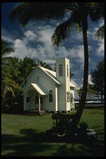 046085 Star Of The Sea  Painted  Church Kalapana Hawaii A4 Photo Print