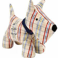 Tartan DOG Shaped DOOR STOP Ulster Weavers BNWT - 1.5kg - 8DOG35