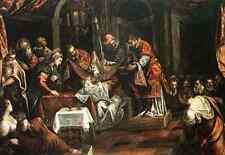 Tintoretto Tintoretto The Circumcision A4 Print