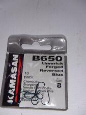 Kamasan B650 - Barbed sz 8 barbel chub meat cubed