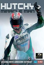 Ian Hutchinson - Hutchy Miracle Man (New DVD) Isle of Man TT Motorcycle Sport