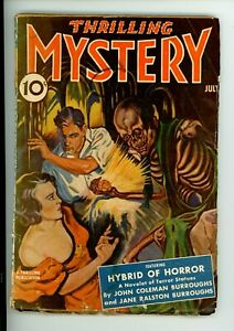 THRILLING MYSTERY 7/1940 pulp magazine