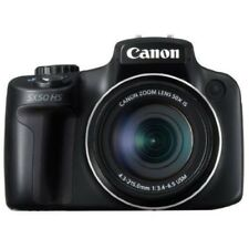 USED Canon PowerShot SX50 HS 12.1 MP Digital Camera - Black Excellent FREESHIP