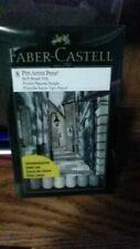 Faber - Castell 8 Pitt Artist Pens Soft Brush Nib