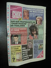 PUBLI CHOC 011 (24/12/91) SANDRA KIM MARIE-FRANCE BOTTE EDDY MERCKX S. STEEMAN