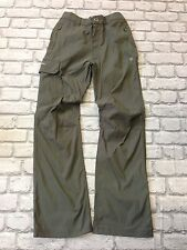 *BNWOT* CRAGHOPPERS UK SMALL W28 L30 PRO STRETCH OUTDOOR FOREST GREEN TROUSERS