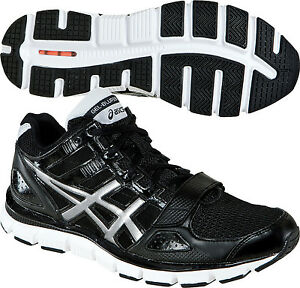 NEW** ASICS Men's GEL-Blur33 TR Mid Training Shoes S306Y Black Silver New in Box