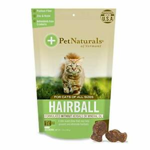 Pet Naturals of Vermont - Hairball, Daily Digestive, Skin + Coat Support for