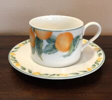 Coventry Fine Porcelain Country Fruit Cup And Saucer