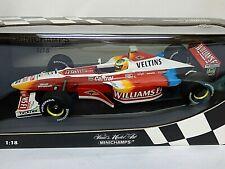 Minichamps Williams F1 Showcar 1999 R. Schumacher  1/18th scale No. 180 990096