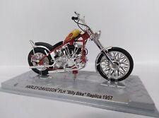 Harley Davidson FLH Billy Bike replica 1957 Escala 1/24 Altaya