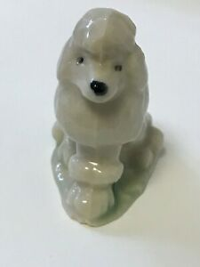Wade Whimsies Collectable Vintage Poodle