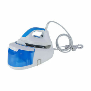 Non Stick Sole Plate Automatic Shut Off Steam Station Iron Smooth Ironing R2
